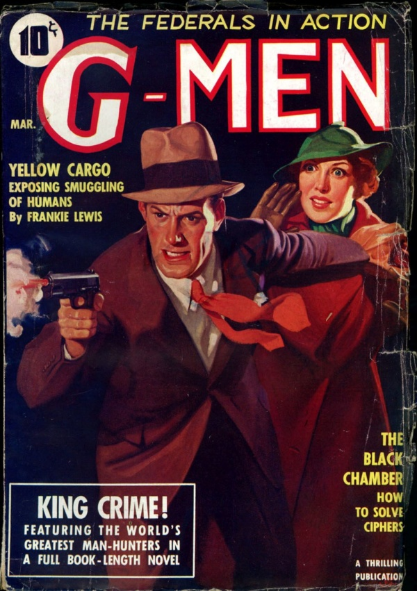 G-MEN. March, 1936