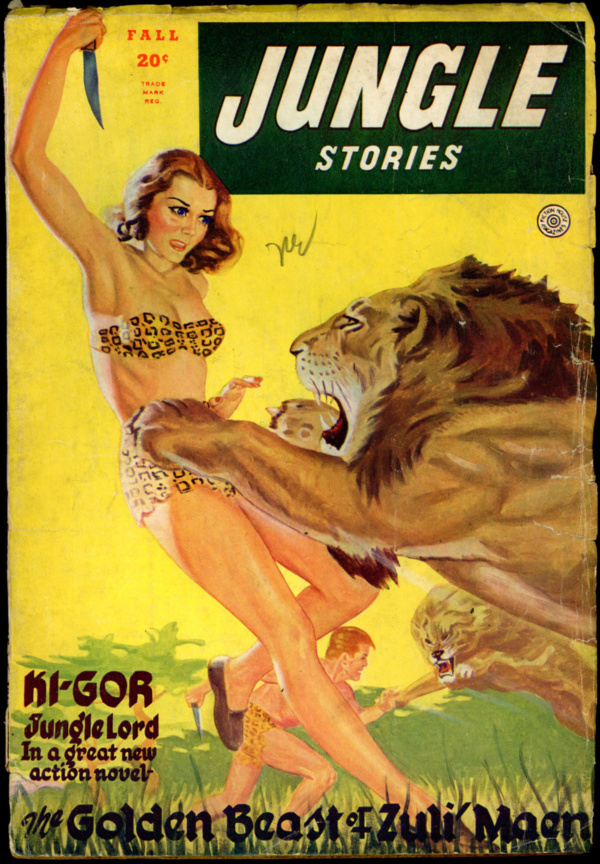 JUNGLE STORIES. Fall 1945