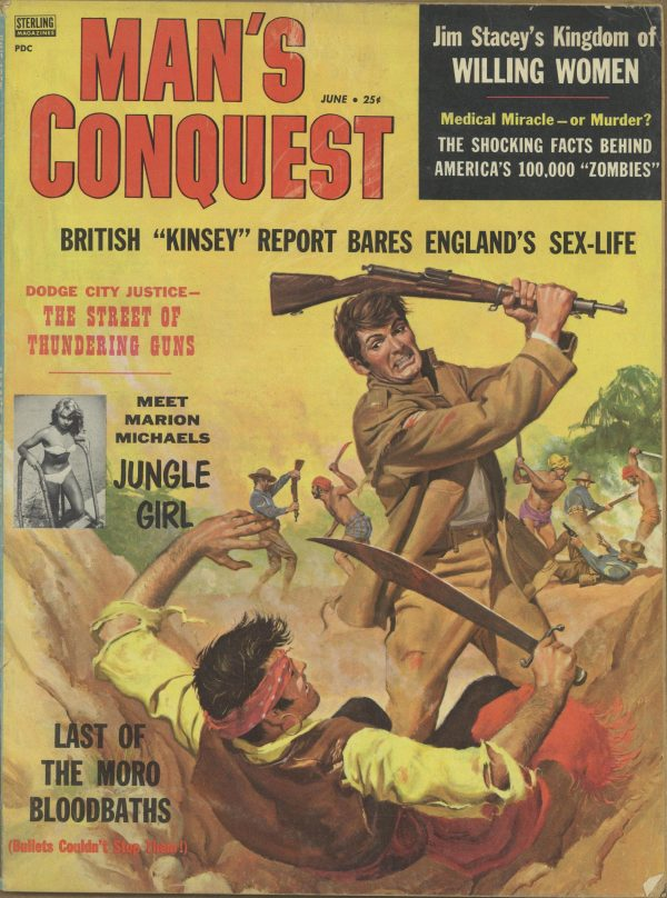 June 1958 Man's Conquest