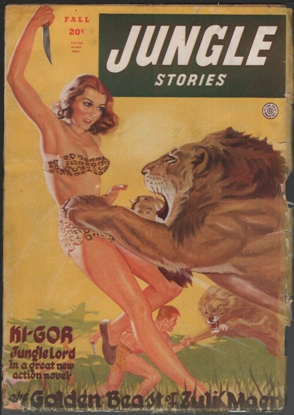 Jungle Stories 1945 Fall