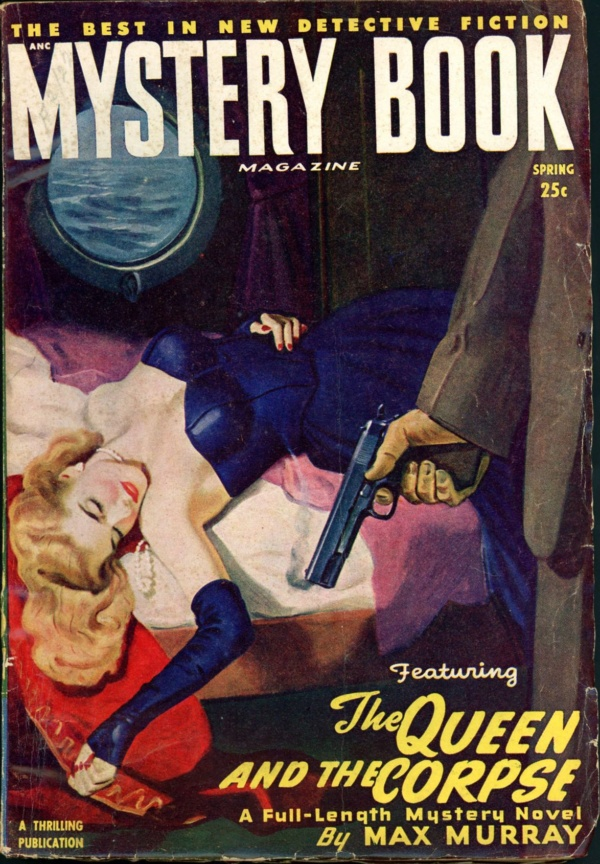 MYSTERY BOOK MAGAZINE. Spring 1949