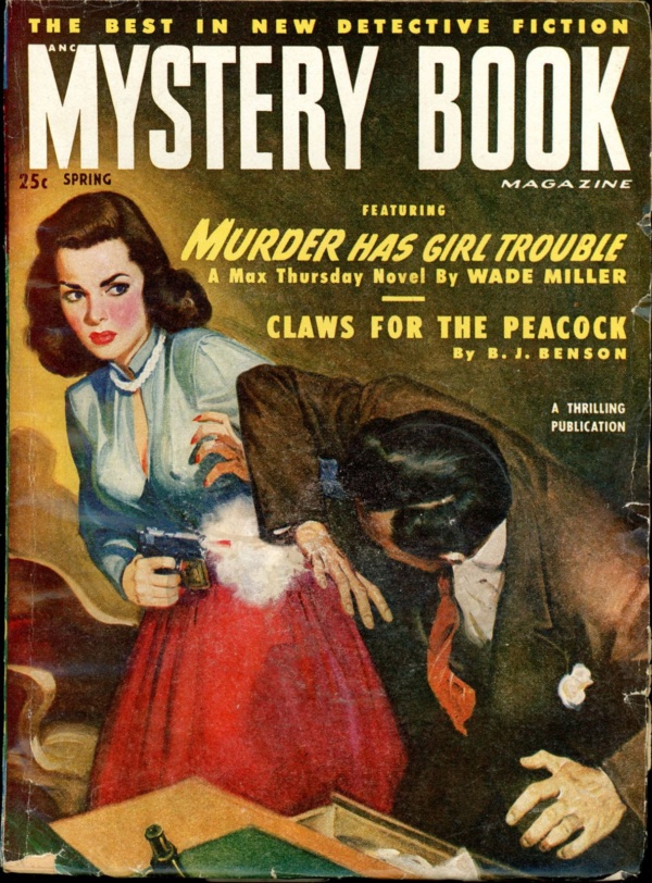 MYSTERY BOOK MAGAZINE. Spring 1950