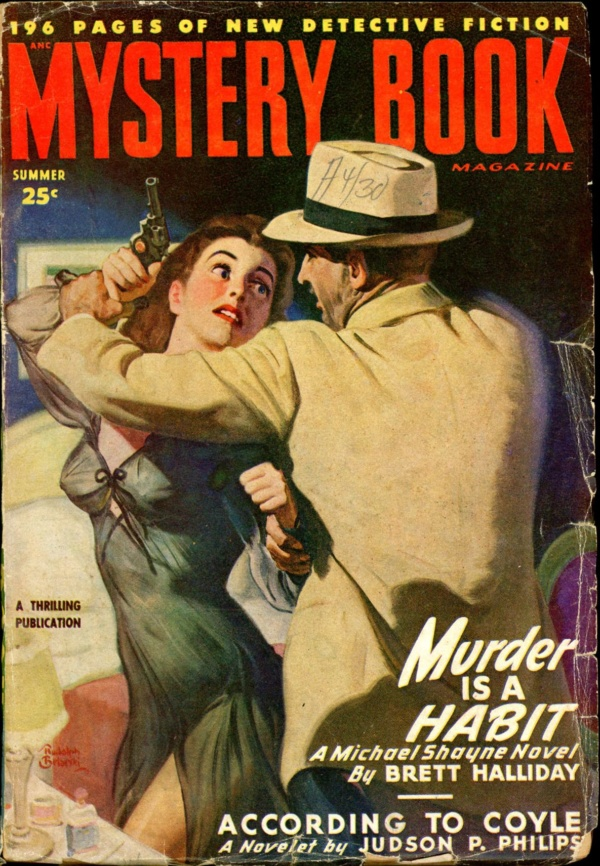 MYSTERY BOOK MAGAZINE. Summer 1948