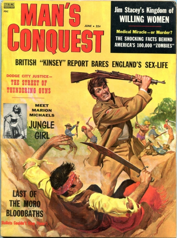 Man's Conquest June 1958