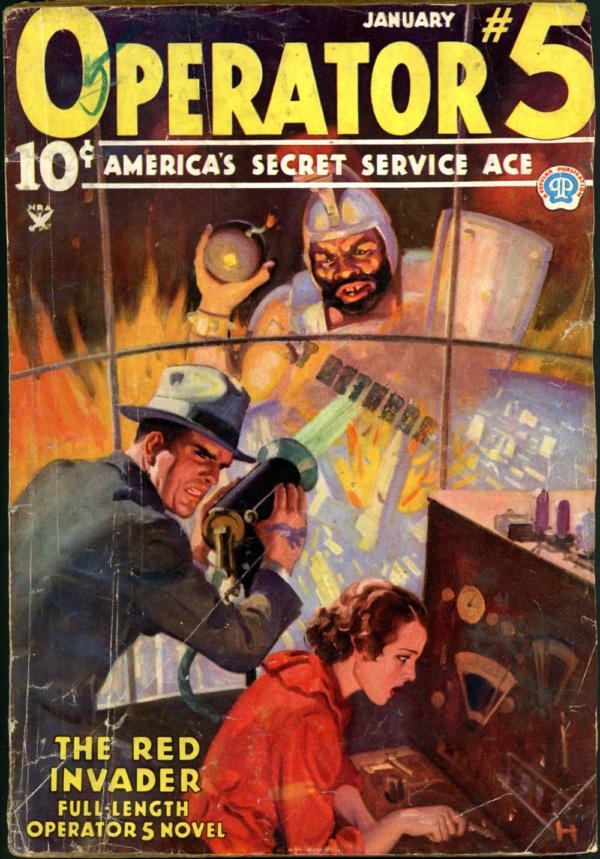 OPERATOR #5. January 1935