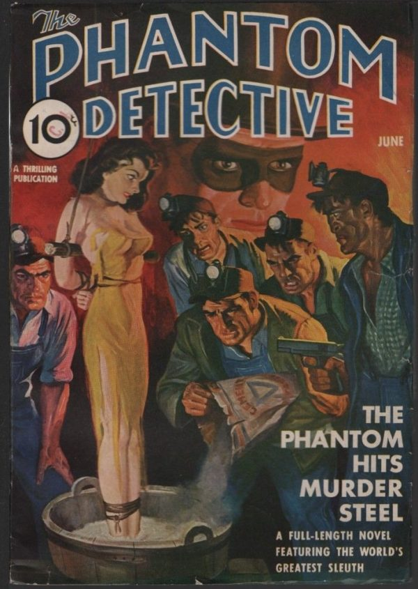 Phantom Detective 1940 June
