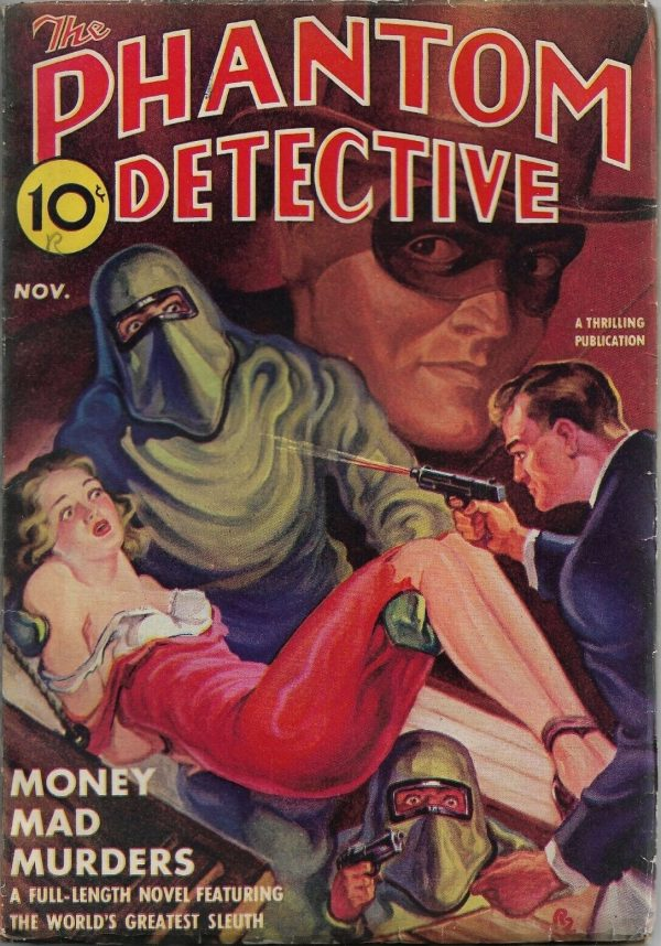 Phantom Detective, November 1939