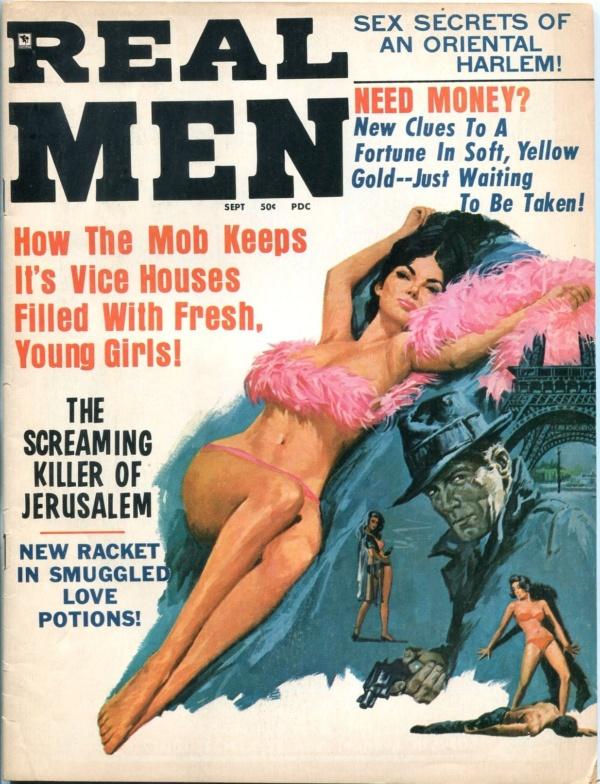 Real Men September 1970