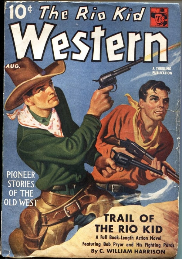 Rio Kid Western August 1940