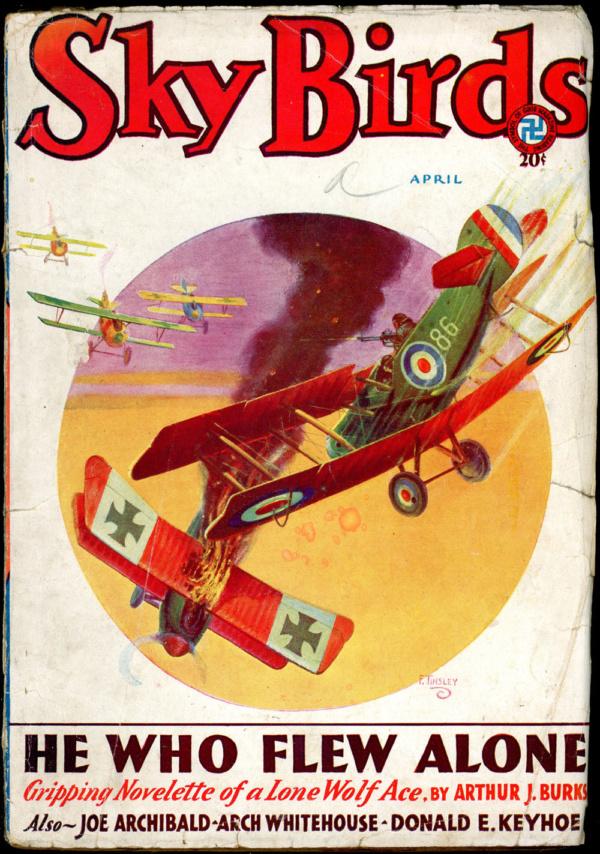 SKY BIRDS. April 1932