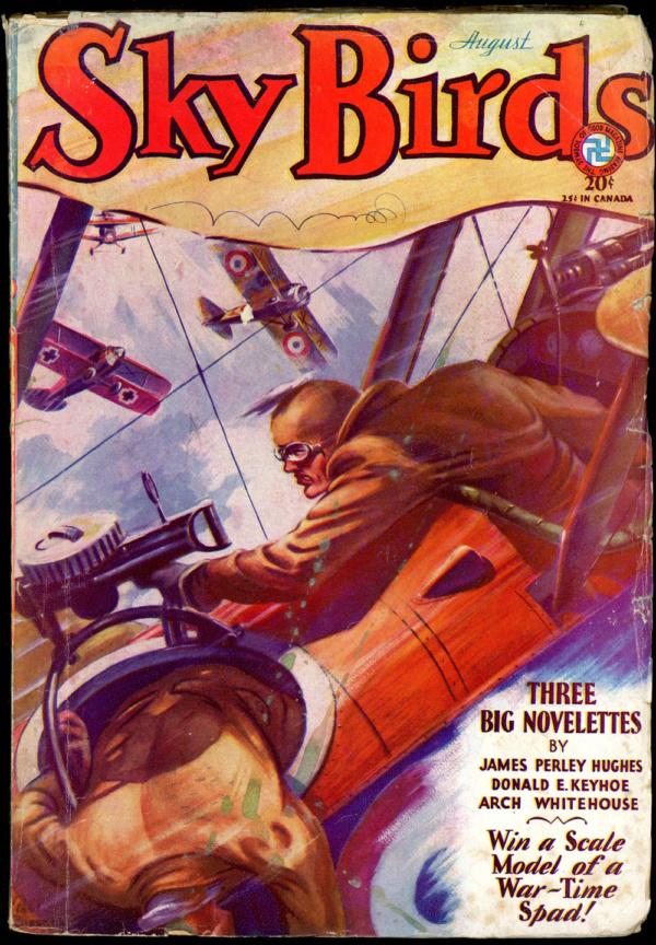 SKY BIRDS. August 1931
