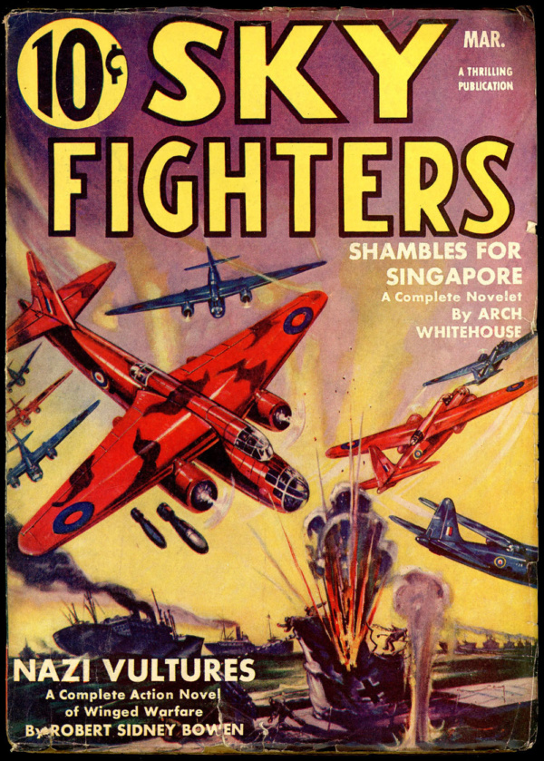 SKY FIGHTERS. March 1942