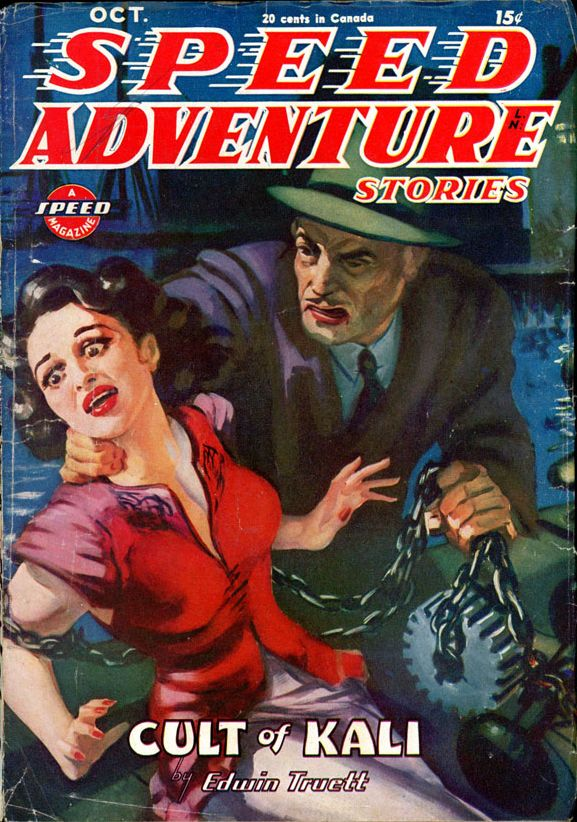 SPEED ADVENTURE STORIES. October, 1945