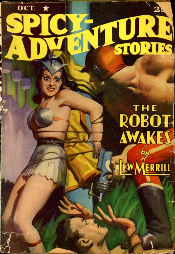 SPICY-ADVENTURE STORIES. October 1940