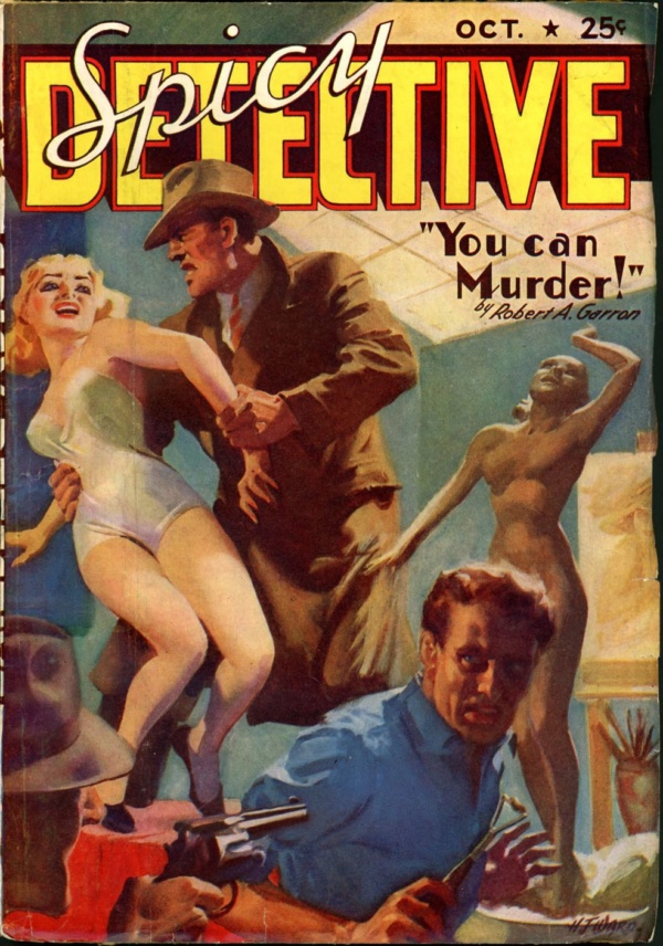 SPICY DETECTIVE STORIES. October 1938