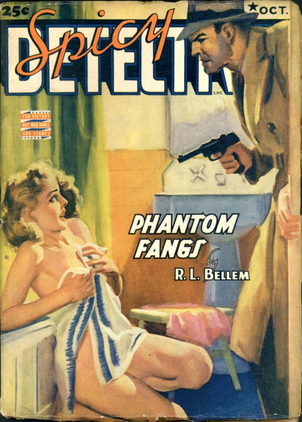 SPICY DETECTIVE STORIES. October 1942