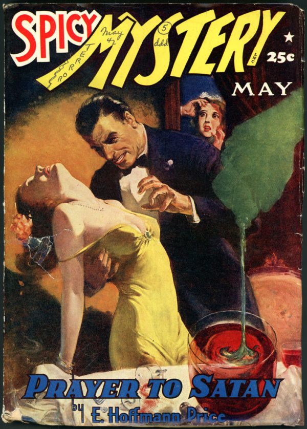 SPICY MYSTERY STORIES. May 1942
