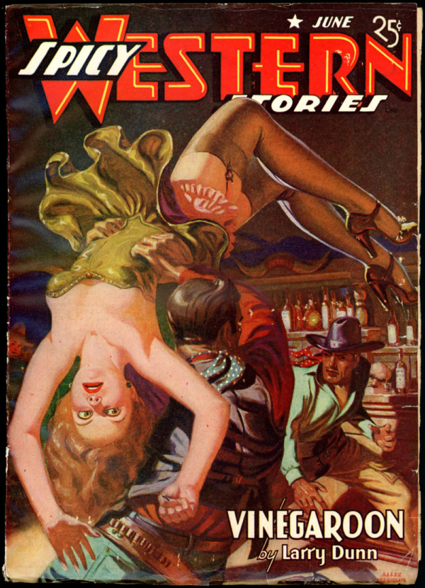 SPICY WESTERN STORIES. June 1941