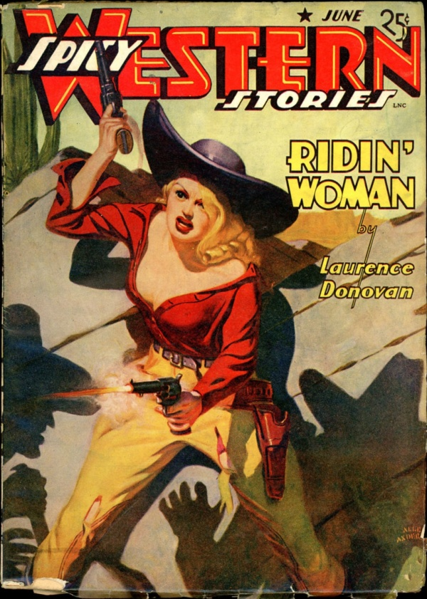 SPICY WESTERN STORIES. June 1942