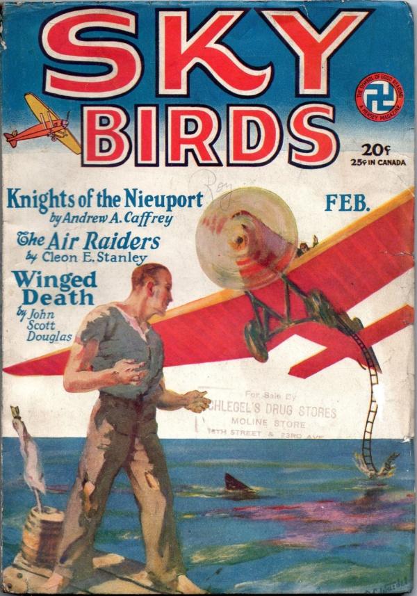 Sky Birds February 1929