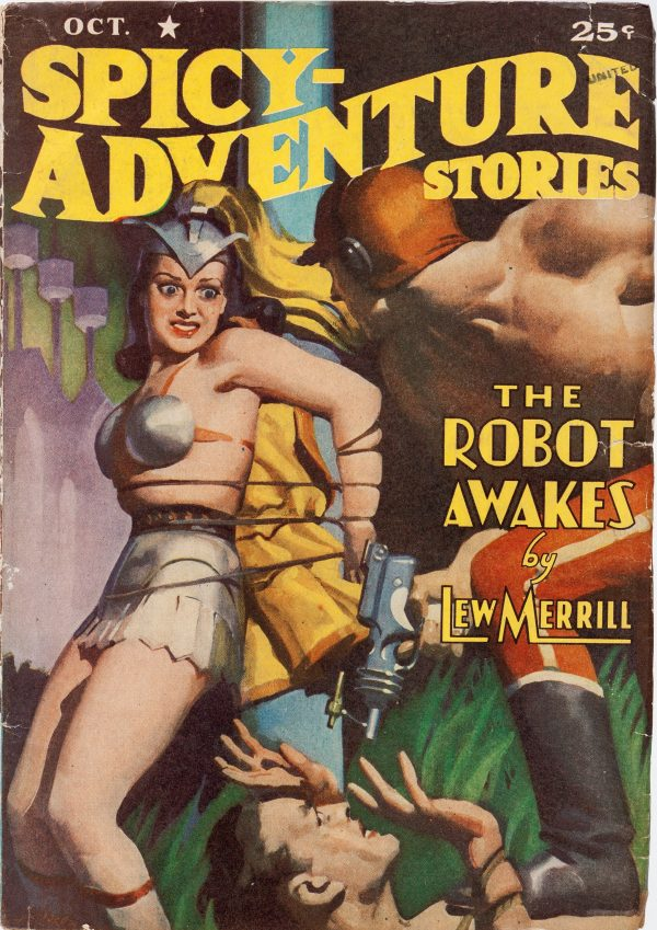 Spicy Adventure Stories - October 1940