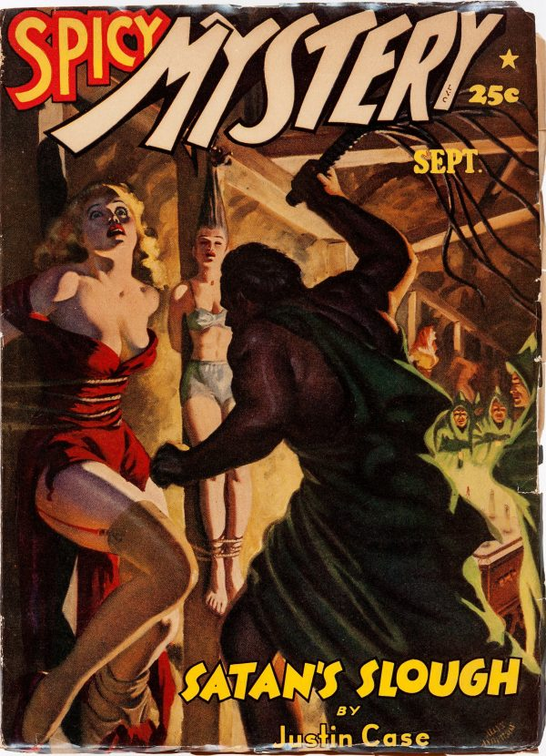 Spicy Mystery Stories - September 1942