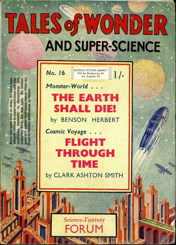 TALES OF WONDER. Spring 1942