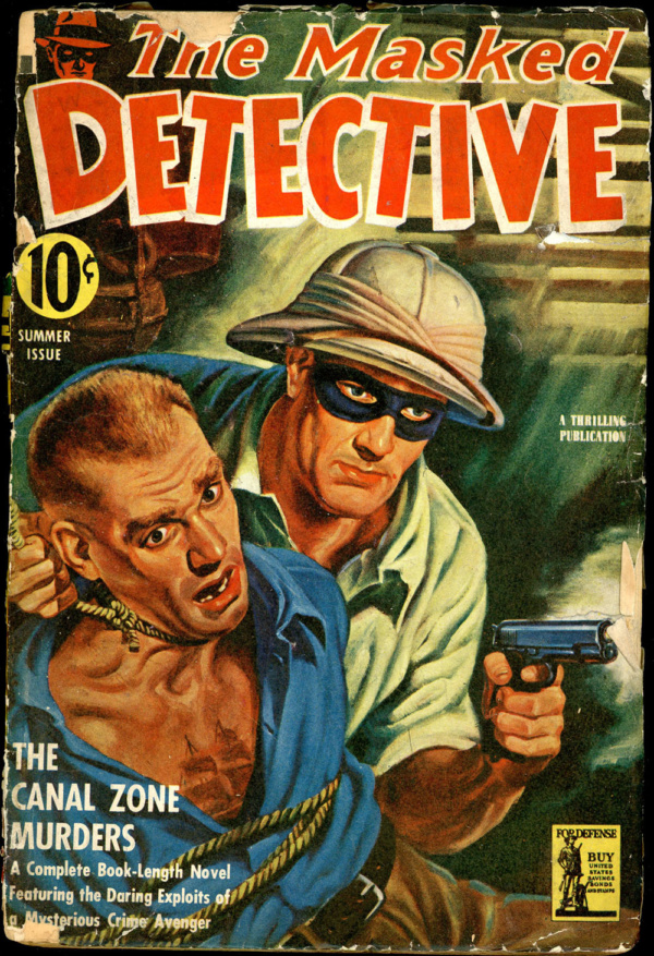 THE MASKED DETECTIVE. Summer 1942