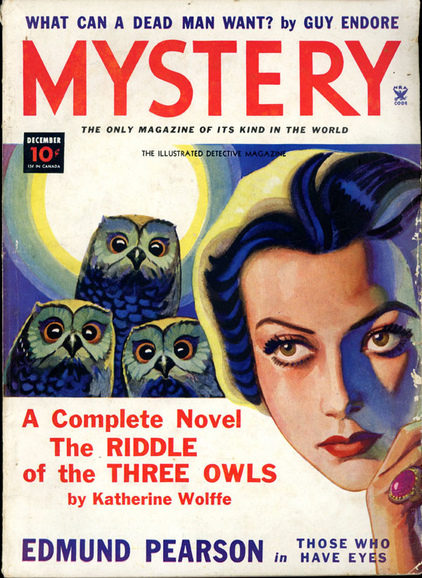 THE MYSTERY MAGAZINE. December, 1934