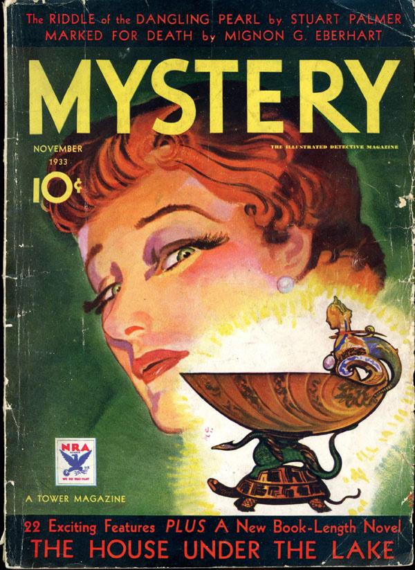 THE MYSTERY MAGAZINE. November, 1933