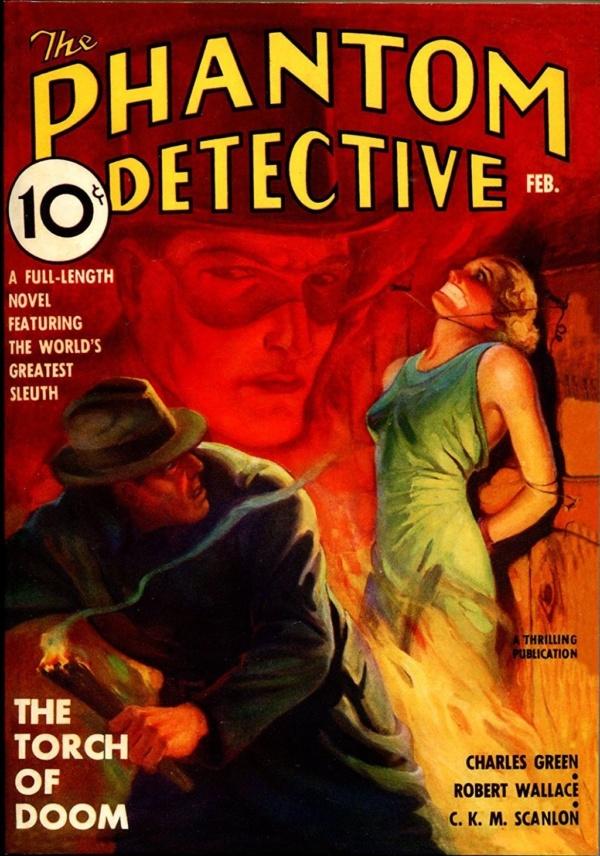 THE PHANTOM DETECTIVE. February, 1937