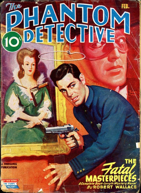 THE PHANTOM DETECTIVE. February, 1945