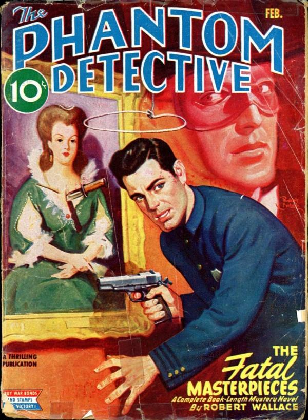 THE PHANTOM DETECTIVE. February, 1945