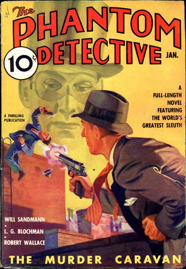 THE PHANTOM DETECTIVE. January, 1937