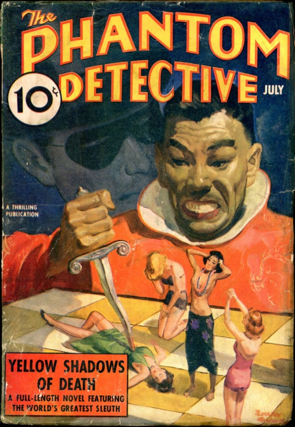THE PHANTOM DETECTIVE. July, 1938