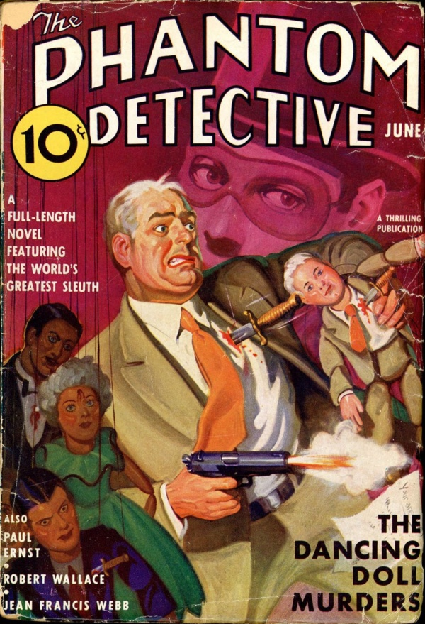 THE PHANTOM DETECTIVE. June, 1937