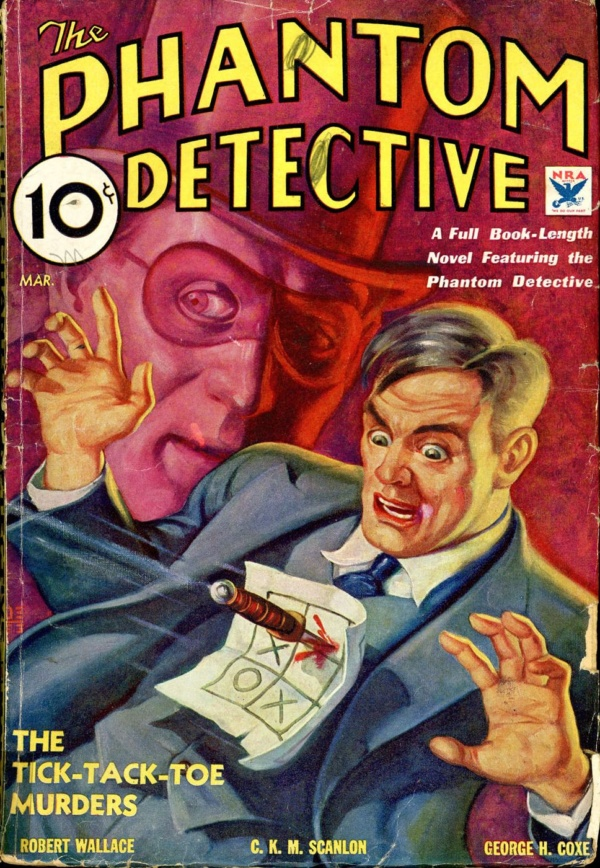 THE PHANTOM DETECTIVE. March 1934