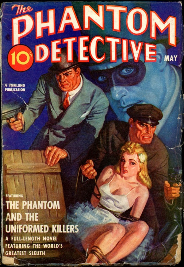 THE PHANTOM DETECTIVE. May, 1940