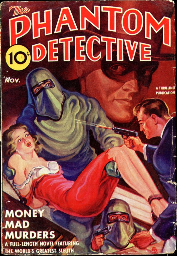 THE PHANTOM DETECTIVE. November 1939