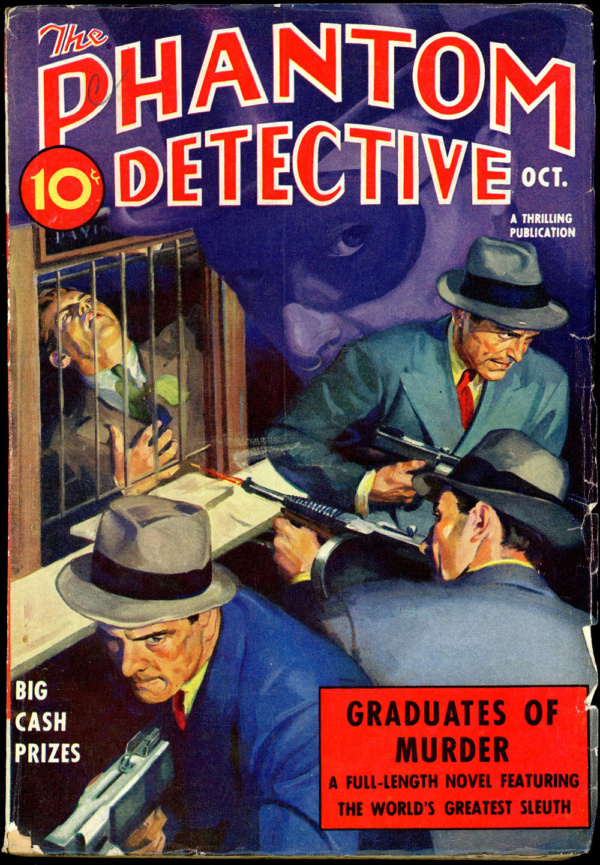 THE PHANTOM DETECTIVE. October, 1938