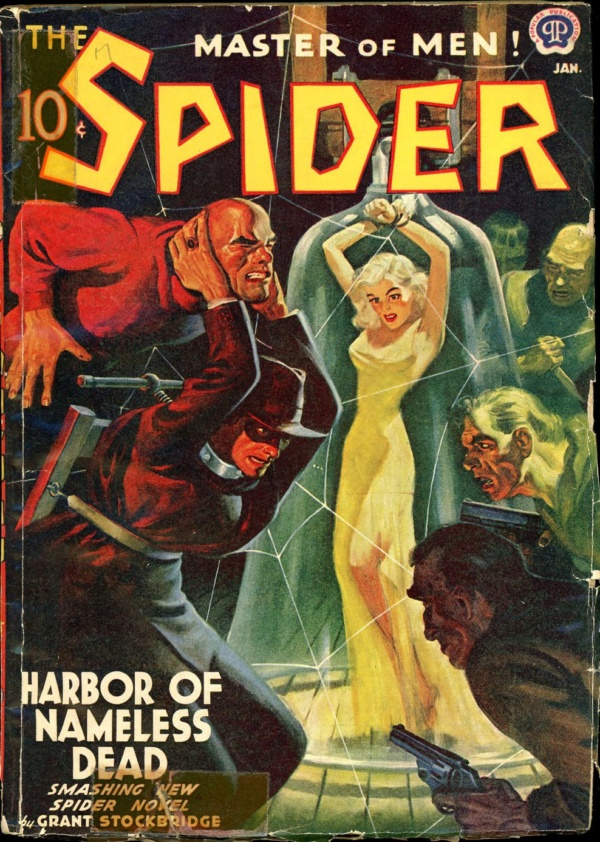 THE SPIDER. January, 1941