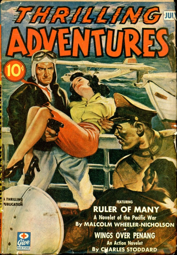 THRILLING ADVENTURES. July 1943