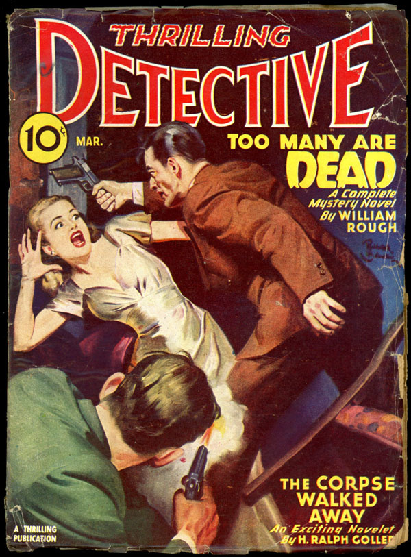 THRILLING DETECTIVE. March, 1946