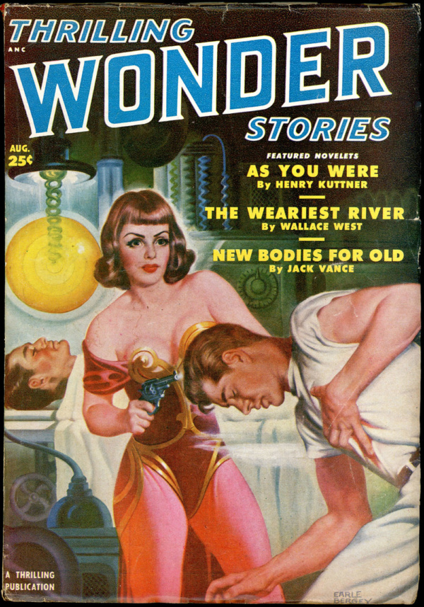 THRILLING WONDER STORIES. August, 1950