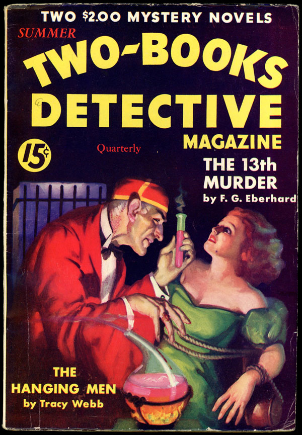 TWO-BOOKS DETECTIVE MAGAZINE. Summer, 1933