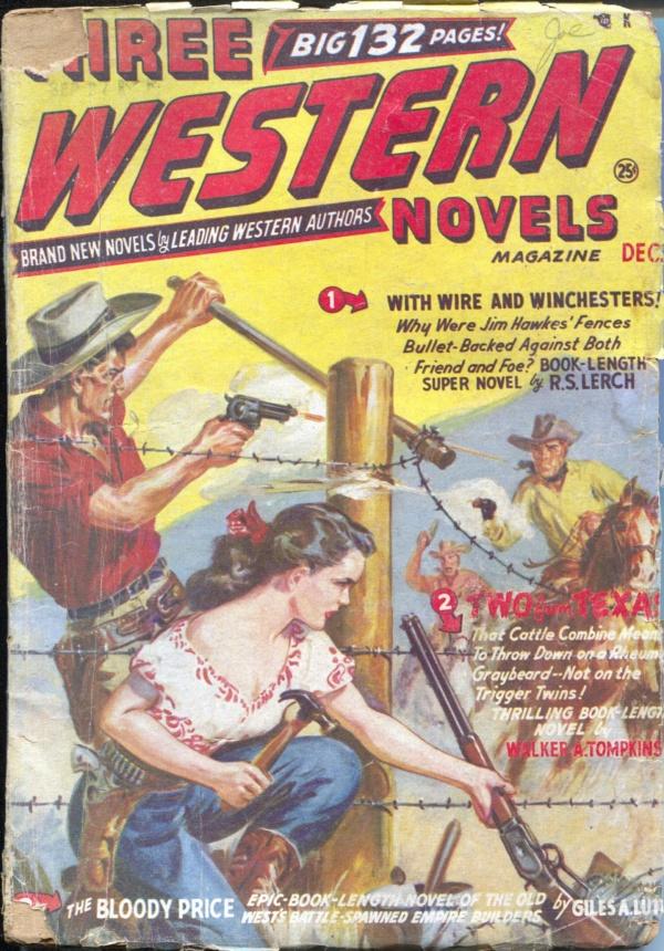 Three Western Novels December 1950