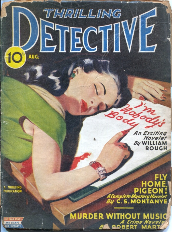 Thrilling Detective August 1945