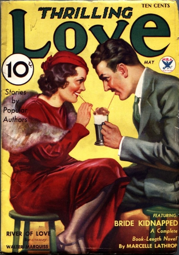 Thrilling Love May 1934