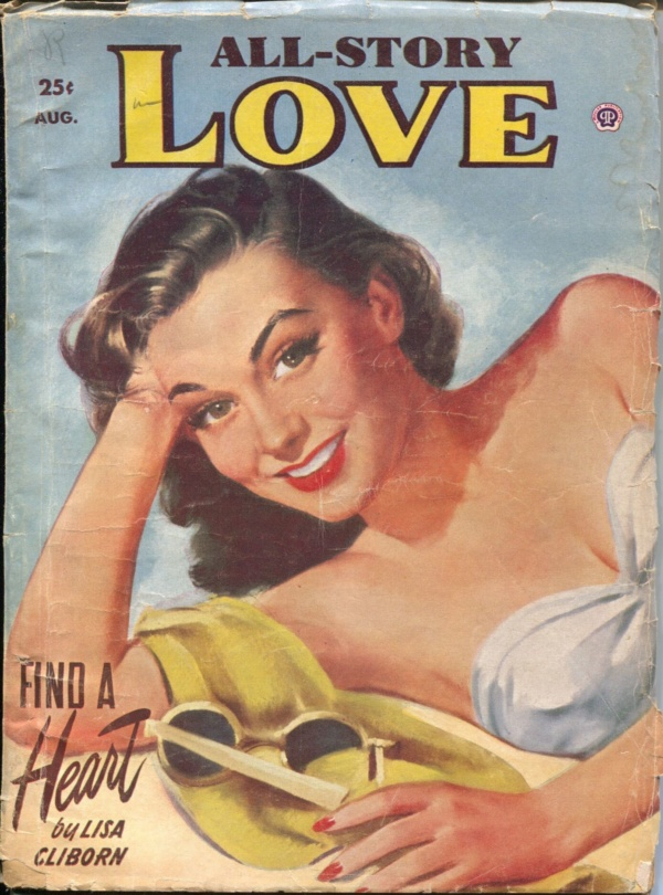 All-Story Love August 1953