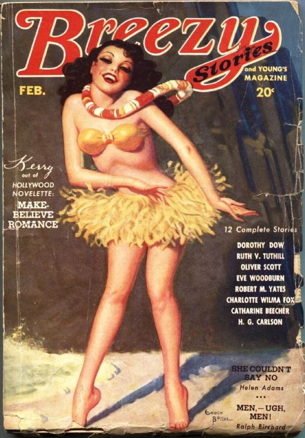 Breezy Stories February 1935